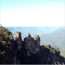 호주 블루마운틴 관광지 이미지