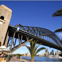 호주 시드니 하버 브릿지 관광지 이미지