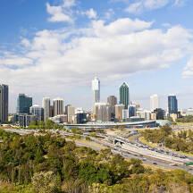 호주 퍼스 도시 이미지
