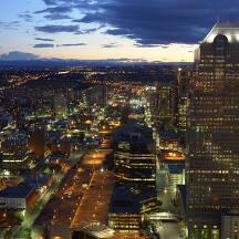 캐나다 캘거리 도시 이미지