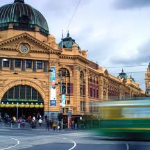 호주 멜버른 도시 이미지