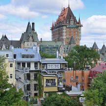 캐나다 퀘벡 도시 이미지