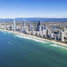 호주 골드코스트 도시 이미지