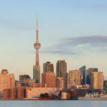 캐나다 토론토 도시 이미지