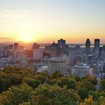 캐나다 몬트리올 도시 이미지