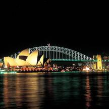 호주 시드니 도시 이미지
