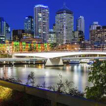 호주 브리즈번 도시 이미지